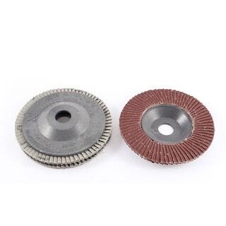 Stainless Steel Metal 4 x 5/8 Flap Sanding Discs Grinding Wheel 60 Grit 3pcs