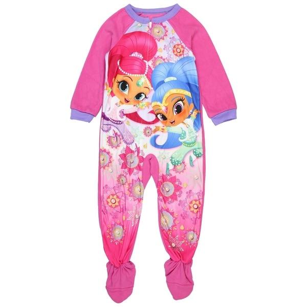 661796970 Shop Nickelodeon Shimmer   Shine Little Girls  Footed Pajamas ...