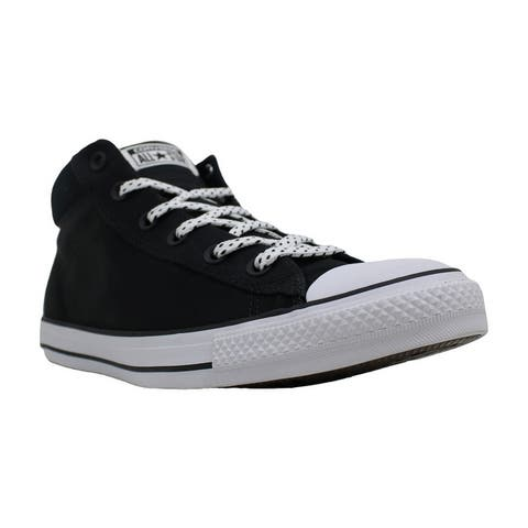 Converse Womens ctas street mid Fabric Low Top Lace Up Fashion Sneakers