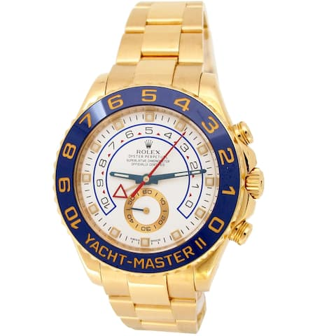 Pre-owned 44mm Rolex Yachtmaster II Watch