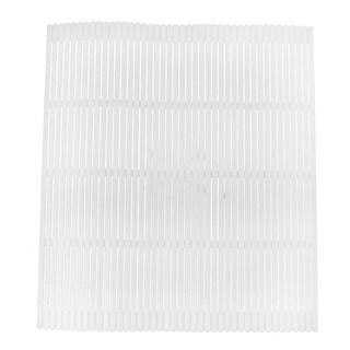 Kitchen Home DIY Plastic Sushi Making Kit Rolling Mat Roller Pad White