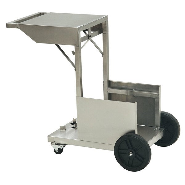 Bayou Classic 700-185 4 Gallon Deep Fryer Accessory Cart - Stainless Steel