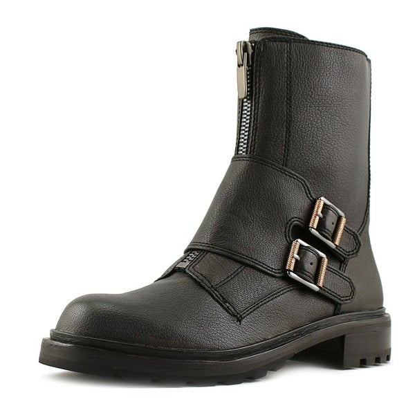 Calvin Klein Jeans Suzetta Leather Motorcycle Boot