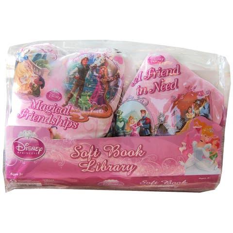 Disney Soft Book Library 2 Pack Disney Princess - multi