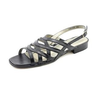 Mark Lemp By Walking Cradles Calypso 4A Open-Toe Leather Slingback Sandal