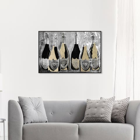 Oliver Gal 'Dom Party Glam' Wall Art Framed Canvas Print