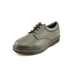 Dressabout Black Dressabout Men E Round Toe Leather Oxford