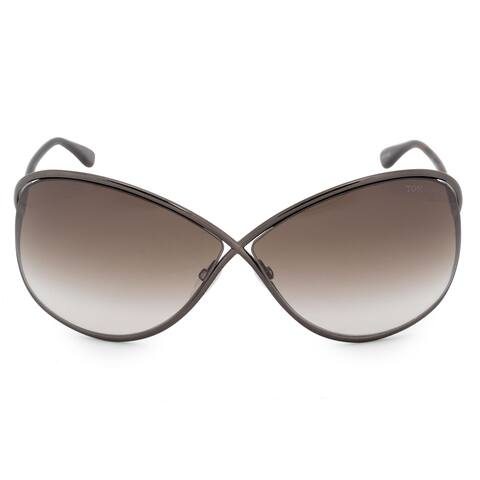 ec1399f8ed4fb Tom Ford Miranda Butterfly Sunglasses FT0130 36F 68