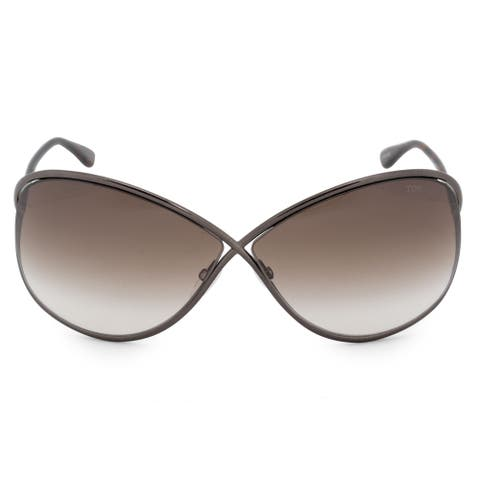 8e9a237ba3 Tom Ford Miranda Butterfly Sunglasses FT0130 36F 68