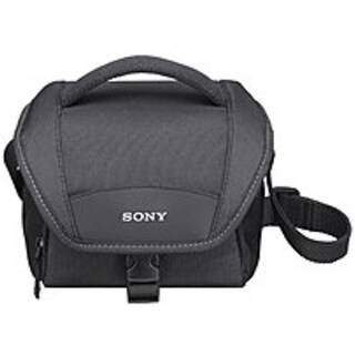 Sony LCS-U11/B Soft Compact Carrying Case for Cyber-Shot Cameras - Black
