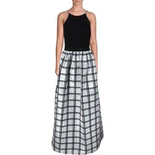Aidan by Aidan Mattox Womens Geometric Prom Formal Dress