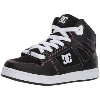 DC Girls' Pure High-Top Skate Shoe - 11.5m m us little kid