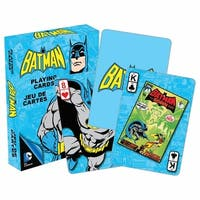 Retro Batman Playing Cards
