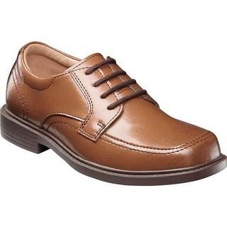 Florsheim Boys' Billings Jr. II Moc Toe Shoe Cognac Leather