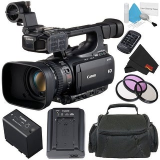 Canon XF105 HD Professional Camcorder Bundle