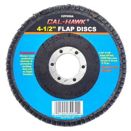 4-1/2 Flap Disc - 80 Grit