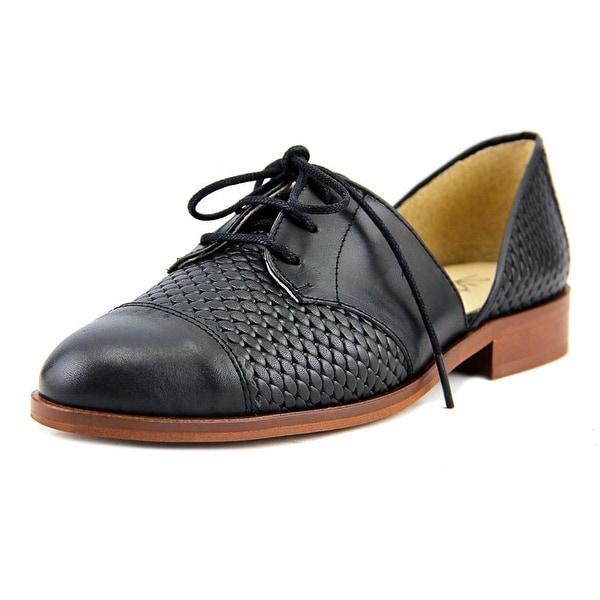 Sixtyseven 78655 Women Black Oxfords