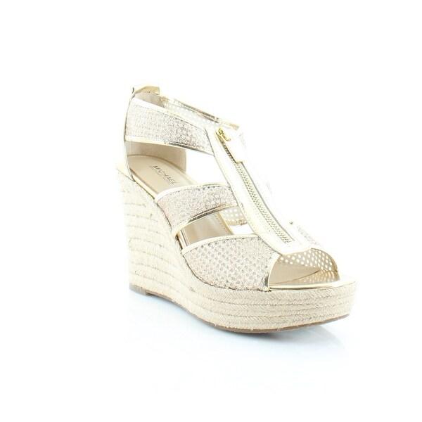 2e12bbd77461 Shop MICHAEL Michael Kors Damita Wedge Women s Heels Pale Gold - 10 ...