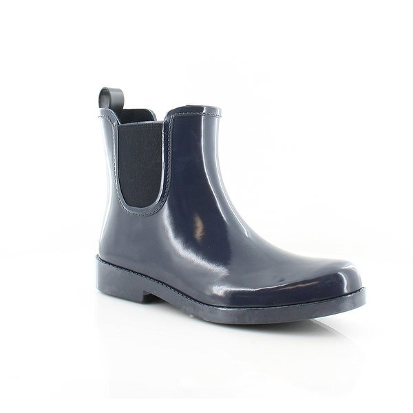 Womens Tyler Rubber Closed Toe Ankle Rainboots
