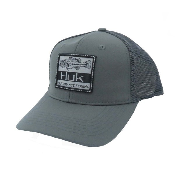 cc572d9a4 Huk Lunker Patch One Size Iron Trucker Cap