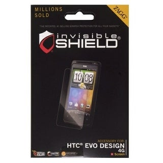 Zagg invisibleSHIELD Screen Protector for HTC EVO Design 4G