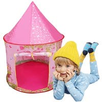 Costway Kids Baby Play Tent Castle Camping In/Outdoor Portable Foldable Children Gift
