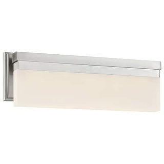 Kovacs P5722-084-L LED Bathroom Vanity Light from the Skinny Collection - Brushed Nickel