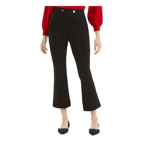 MAISON JULES Womens Black Cropped Pants Size XXS