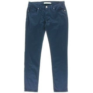 Levi's Womens Juniors 524 Ultra-Low Rise Denim Colored Skinny Jeans - 11