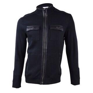 Calvin Klein Men's French Ribbed Jacket