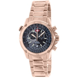 Swiss Precimax Men's Squadron Pro SP13079 Rose-Gold Stainless-Steel Dress Watch
