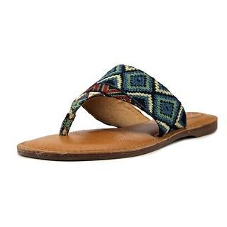Corso Como Joan Women  Open Toe Canvas  Thong Sandal