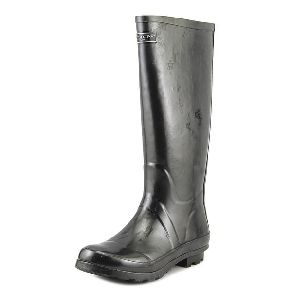 London Fog Thames Black Snow Boots