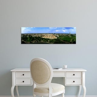 Easy Art Prints Panoramic Images's 'Aerial View Of The City, Washington DC, District Of Columbia, USA' Canvas Art