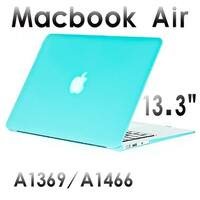 AGPtek 3in1 Rubberized Hard Cover Case with Keyboard Skin Screen Protector for Macbook Air 13.3 Inch