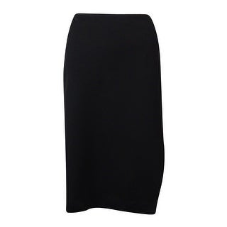 Nine West Women's Stretchy Ponte Skirt - Black - 8