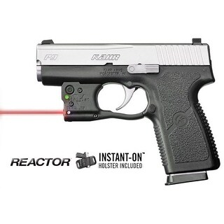 Viridian r5-r-pm45 viridian reactor 5 red laser sight for kahr pm & cw 45 featuring ecr includes hybrid belt holster