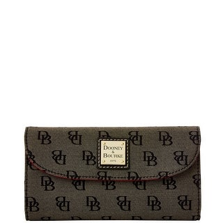 Dooney & Bourke Madison Signature Continental Clutch (Introduced by Dooney & Bourke at $118 in Nov 2015)
