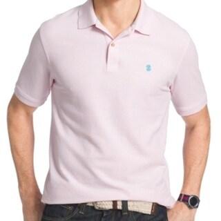 IZOD NEW Blue Pink Cradle Mens Size XL Advantage Polo Pique Shirt