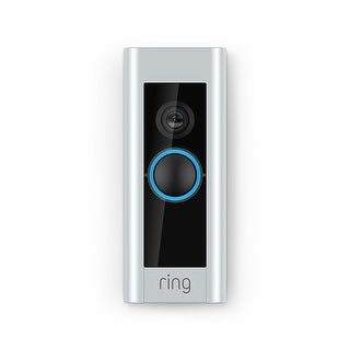 Ring 8VR1P6-0EN0 Ultra Slim Wi-Fi Video Doorbell PRO with 1080HD Video
