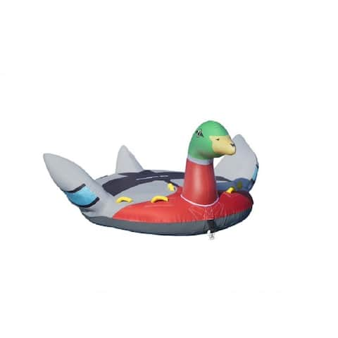 """86"""" Inflatable Lay-on Decoy Towable Duck Float"""
