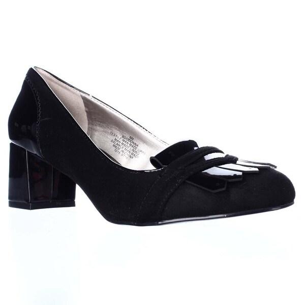 Bandolino Odonna Oxford Dress Pumps, Black/Black