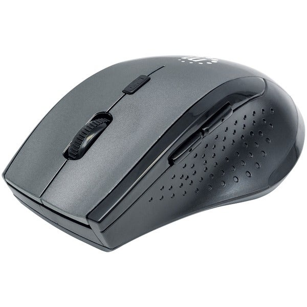 Manhattan 179379 Curve Wireless Optical Mouse (Gray/Black)