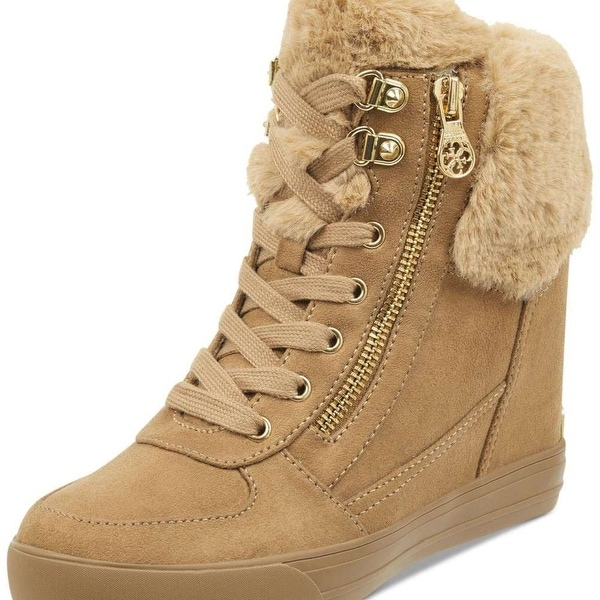 4feecda6997 Shop Guess Womens Dustyn Closed Toe Ankle Cold Weather Boots - Free ...