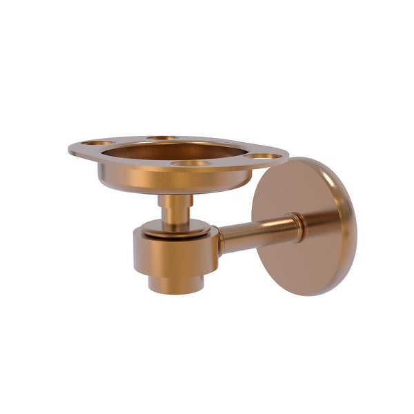 Allied Brass Satellite Orbit One Tumbler and Toothbrush Holder