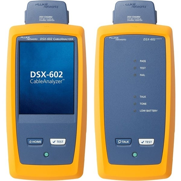 Fluke networks core dsx-602 500mhz cable analyzer v2 with