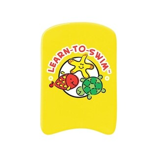 "17.5"" Lemon Yellow Learn-to-Swim Swim Board"