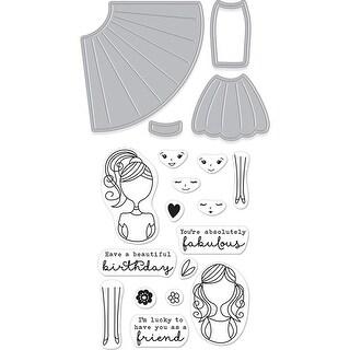 Hero Arts Stamp & Cut-Dress Up