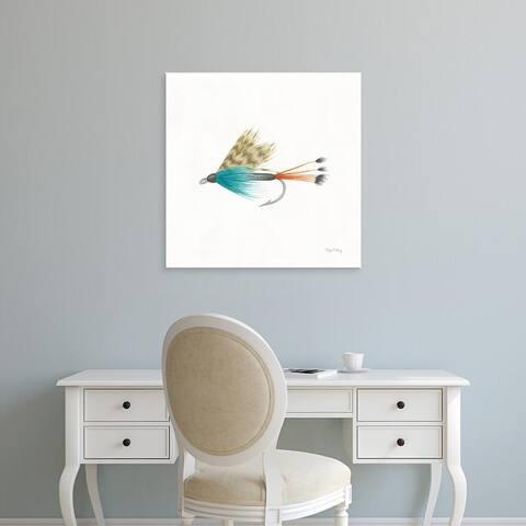 Easy Art Prints Elyse DeNeige's 'Gone Fishin V' Premium Canvas Art