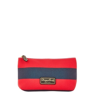 Dooney & Bourke Rugby Cosmetic Case (Introduced by Dooney & Bourke at $48 in Feb 2016) - Navy Red